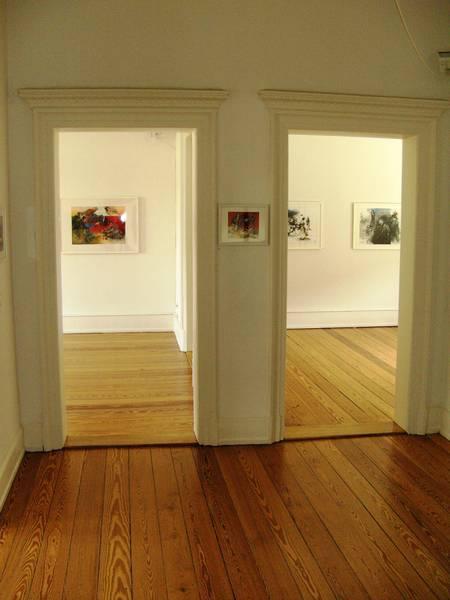 Zugang zur Ausstellung.